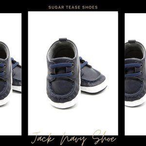 Jack Navy Baby Boys Shoes - Sugar Tease
